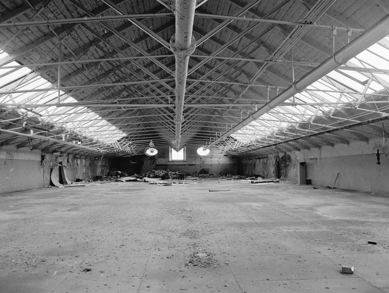 Interior. View of South end of top floor from North. Digital image of A 38497