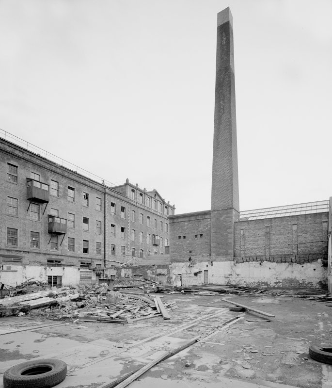 View of former engine house and chimney from N-N-W. Digital image of A 38502
