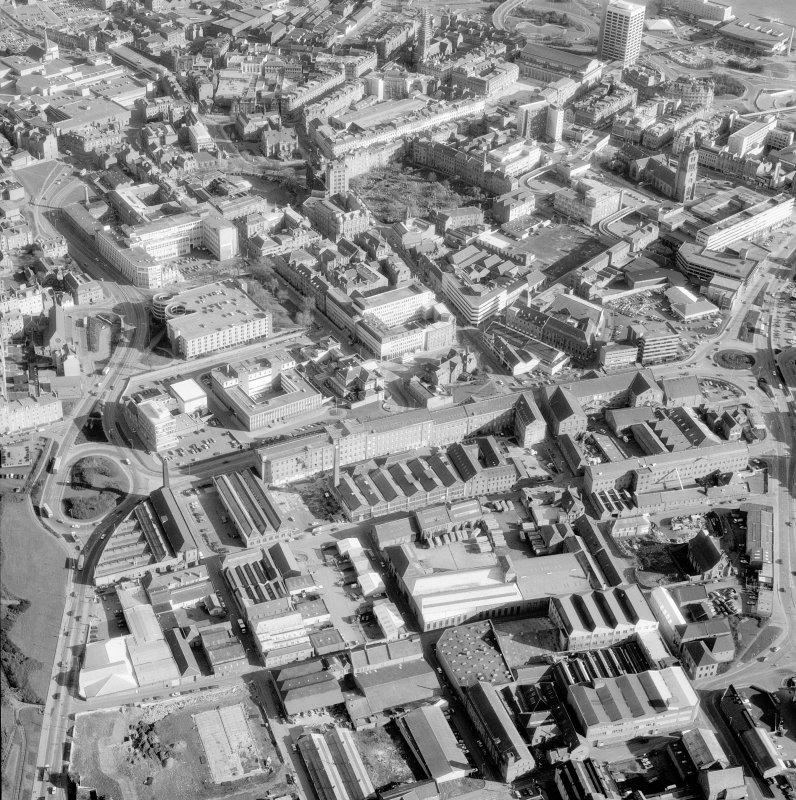 Oblique aerial view. Digital image of A 55850