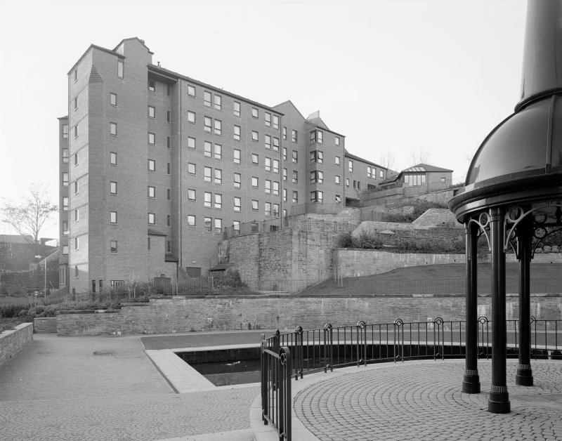 General view of Redevelopment with new housing. Digital image of B 20236