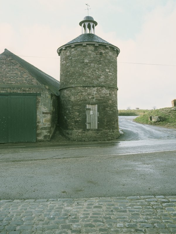 View from SE showing dovecot