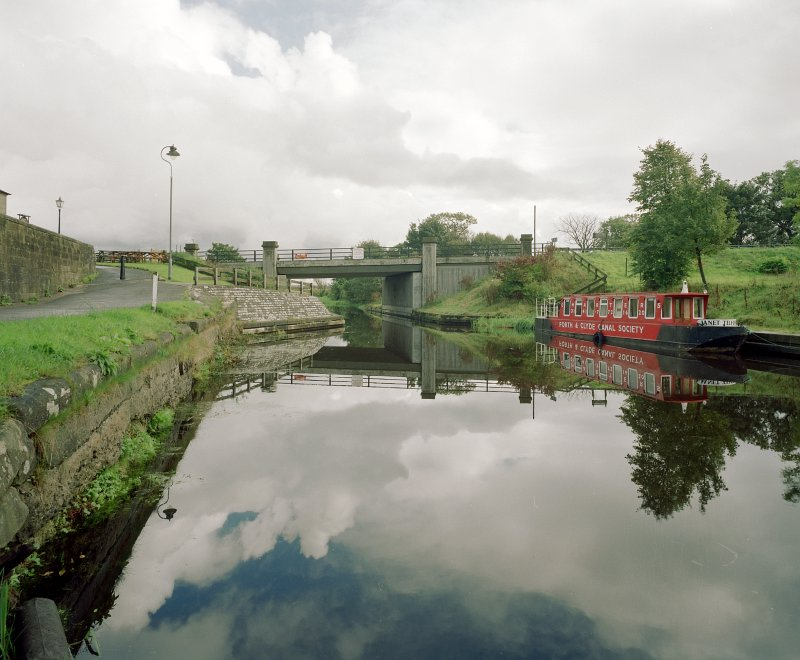 Glasgow Bridge, Forth and Clyde Canal, Swing Bridge View from West Digital image of D/58846/cn