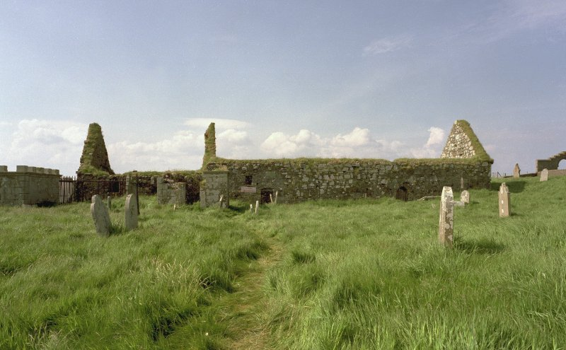 View of SE side of chapel from SE Digital image of D 18035 CN