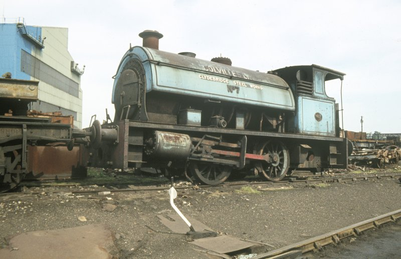 View showing shunting locomotive