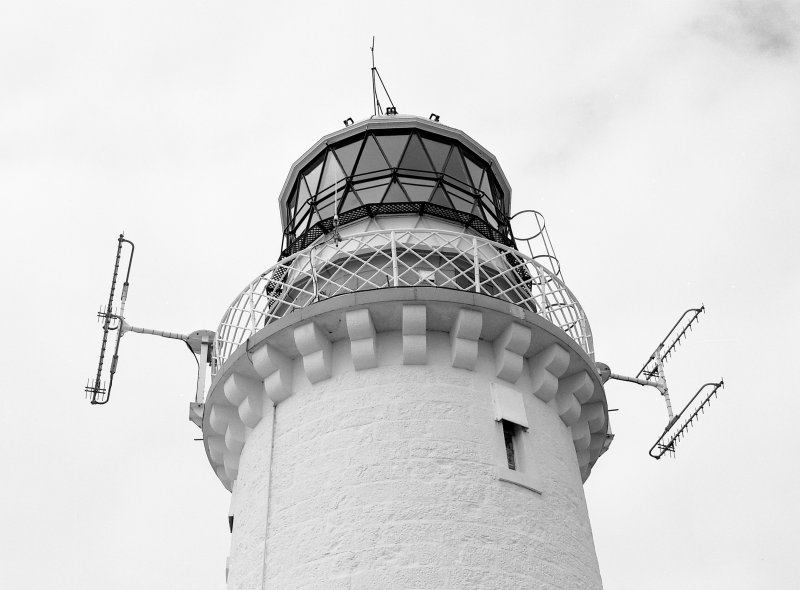Detail of top of light tower, photographed 28 July 1993 Digital image of C 19669