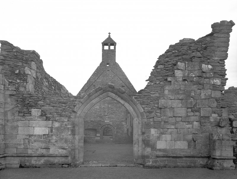 West end of Church.  Digital image of AY 533