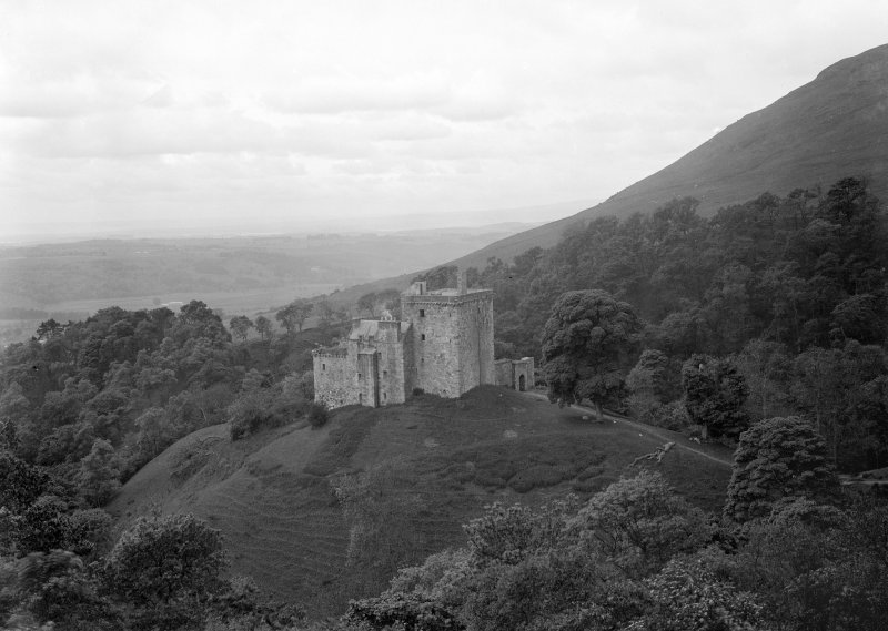 Castle Campbell, view from North-East.
