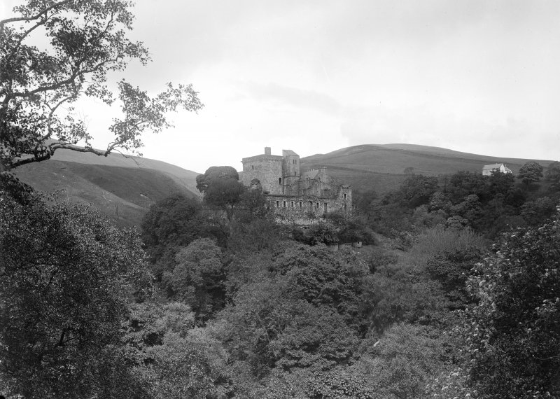 Castle Campbell, from the south-west.
