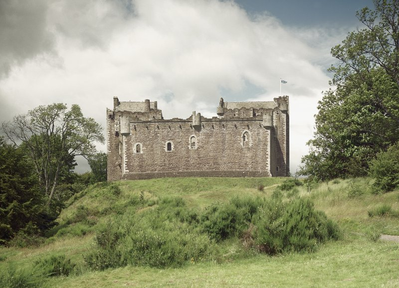 Doune Castle. View from the South. Digital image of A 7138 CN