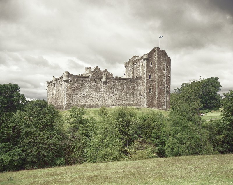 Doune Castle. View form South-East. Digital image of A 7221 CN
