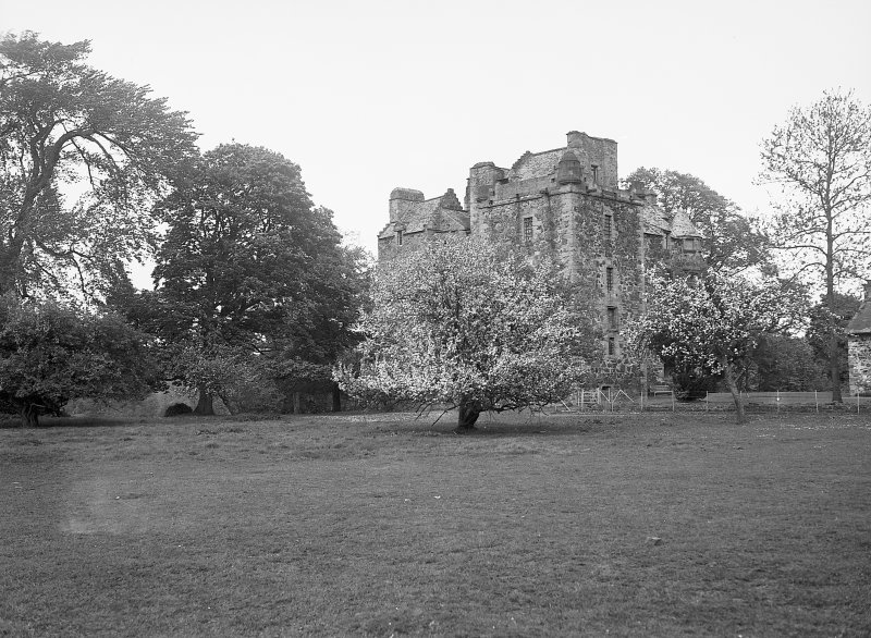 Elcho Castle. General view from South-West. Digital image of PT 2187