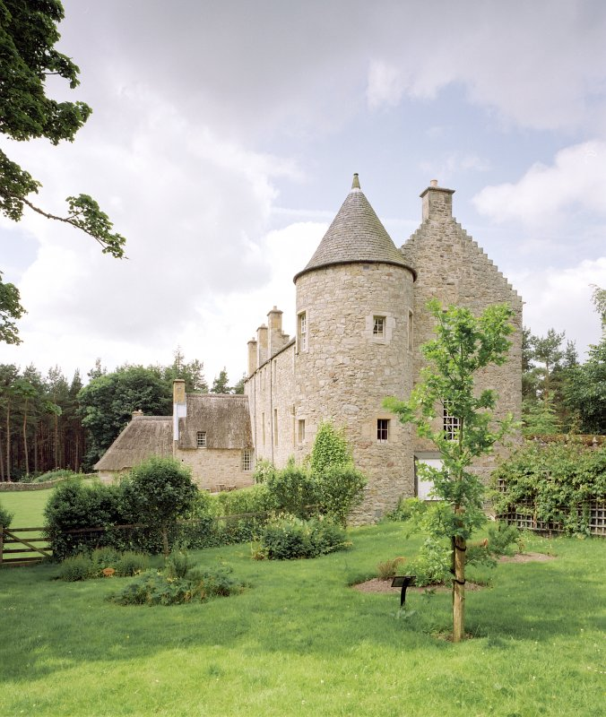 View of Ferniehirst Castle from E