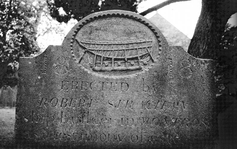 Montrose Churchyard. Headstone, James Strachan, 1815. Digital image of AN/6796/1.