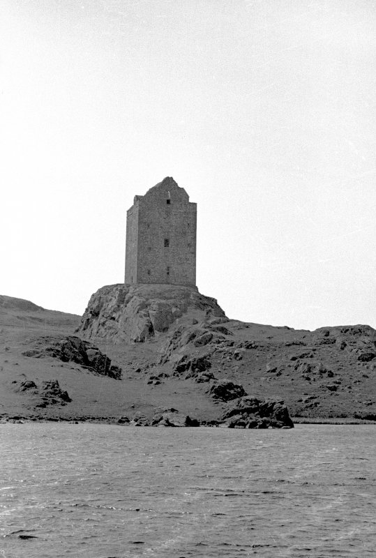 General view of Smailholm Tower.
