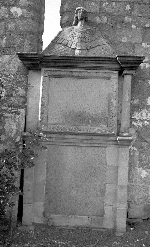 View of grave-stone. Digital image of LA 3769/2