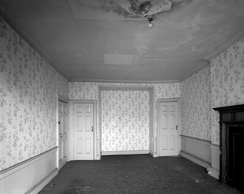 Interior-general view of South apartment on top floor