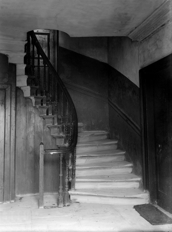 View of stair in Chessel's Court