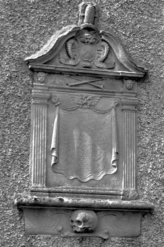 Mural monument, for James Russell, 1692. Digital image of B 4243/5