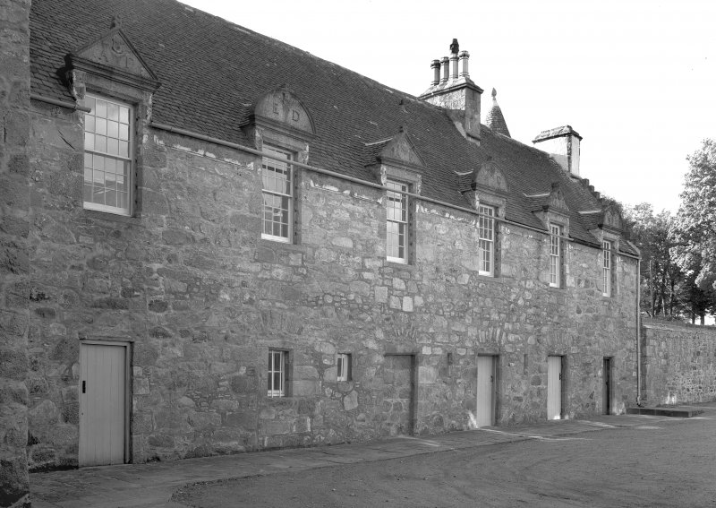 View of courtyard buildings. Digital image of AB 670