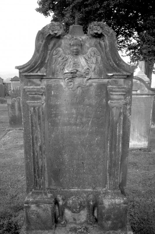 Kells Parish Churchyard. Headstone for Robert Watt, 1777 Digital image of KB 1325/2.