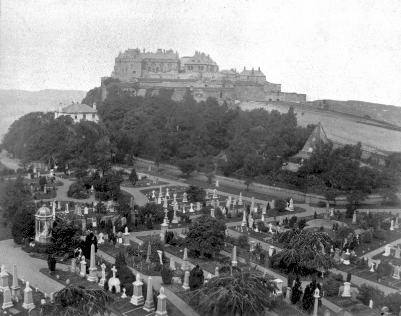 Stirling Castle View from South entitled: 'Stirling Castle'