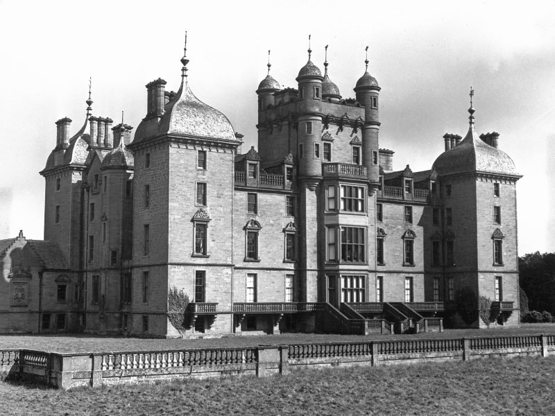General view of Panmure House, Angus.