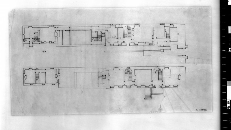 Sketch plan.   Scanned image of E 35707.