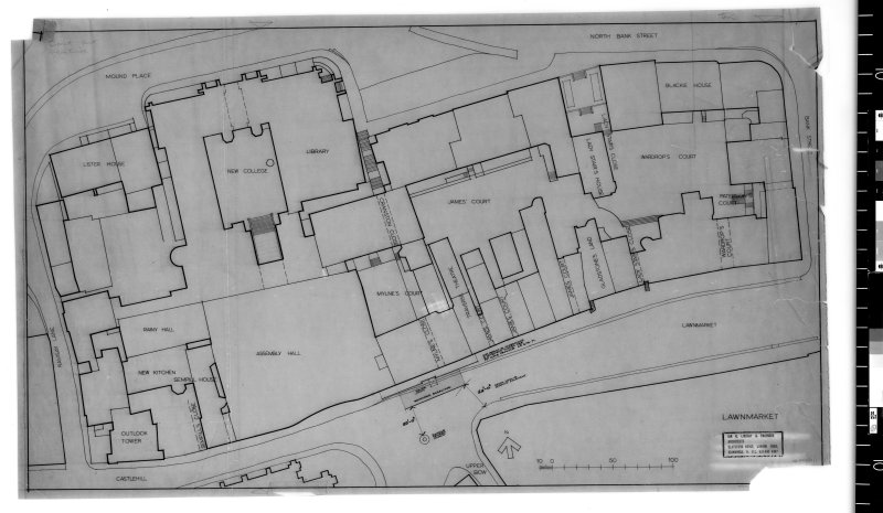 Site plan.   Scanned image of E 48211.