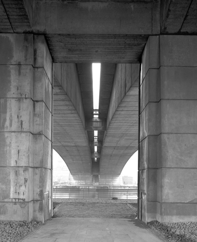 Glasgow, Carnoustie Street Bridge. View from North.
