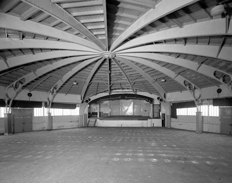 Rothesay, Winter Gardens. Auditorium from South.