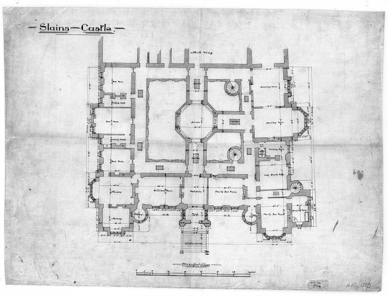 Digital image of plan of principal floor.