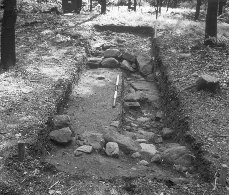 Entrance. Pollok excavation