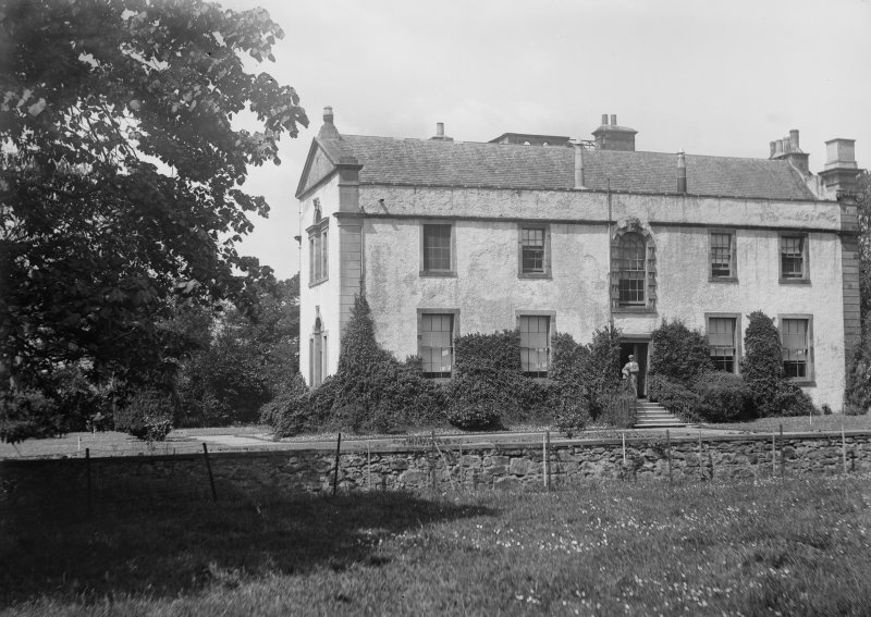 View of Innergellie House near Anstruther, Fife.