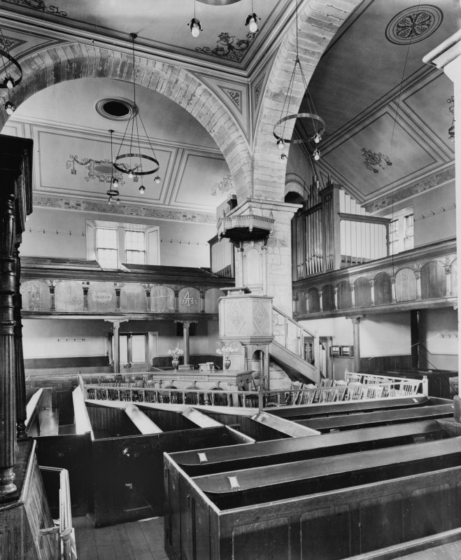 Interior - view towards pulpit