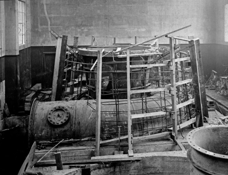 Interior. Assembly of No. 1 Hydro unit.
