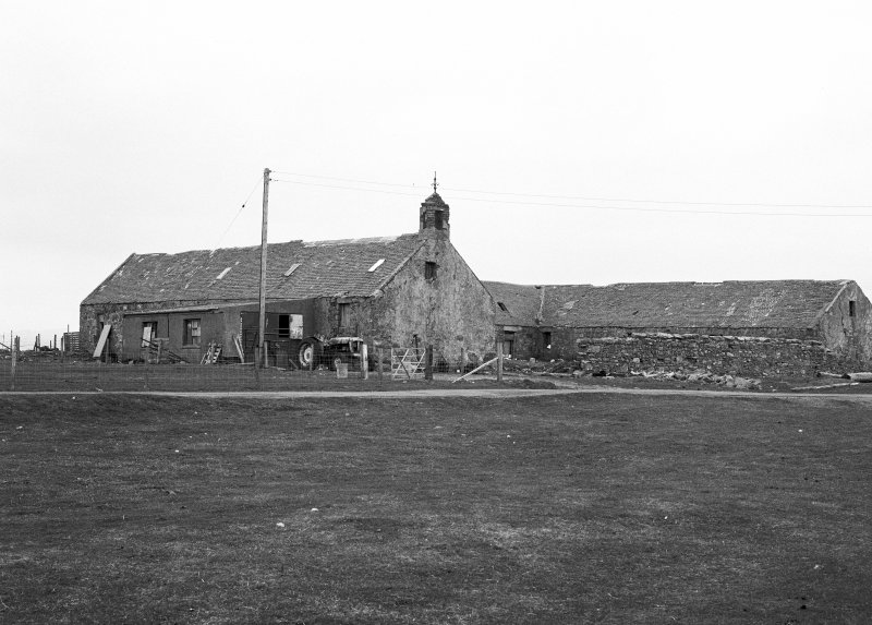 View of Nunton Steading, Benbecula.