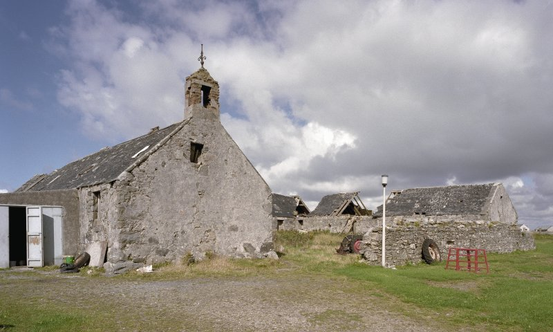 Nunton Steading, Benbecula, view from S