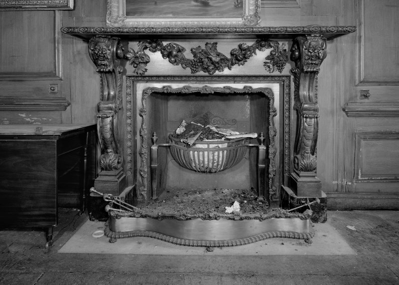 Dining room (originally the hall), chimneypiece