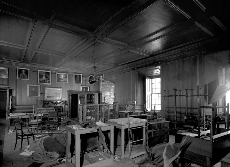 Large dining room (old hall), Castle Grant.