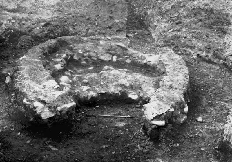 Excavation photograph taken during the James Curle excavation 1905-1909.