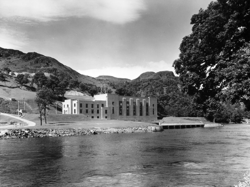 General view of Clunie Power Station from left bank. Tummel/Garry Project.
