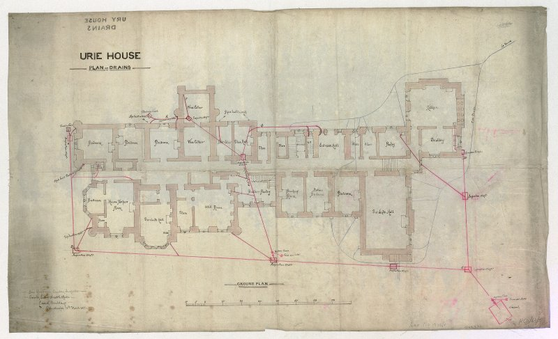Plan of drains.