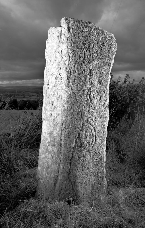 Digital image of view of symbol stone