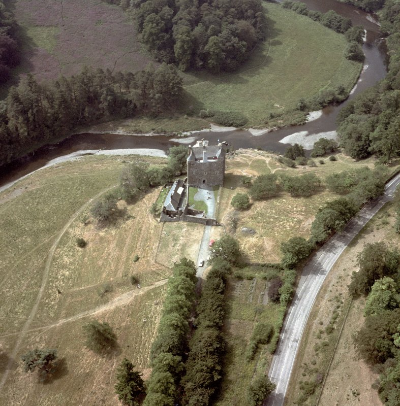Scanned image of Nedipath Castle Aerial view