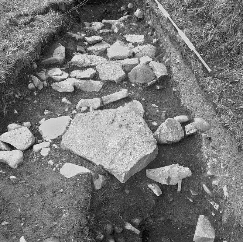 Excavation photographs: view of excavations.