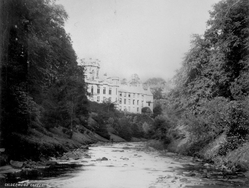 View of castle from river.