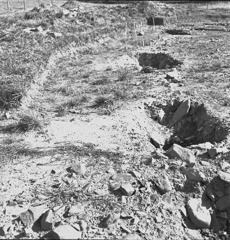 View of palisade trench.