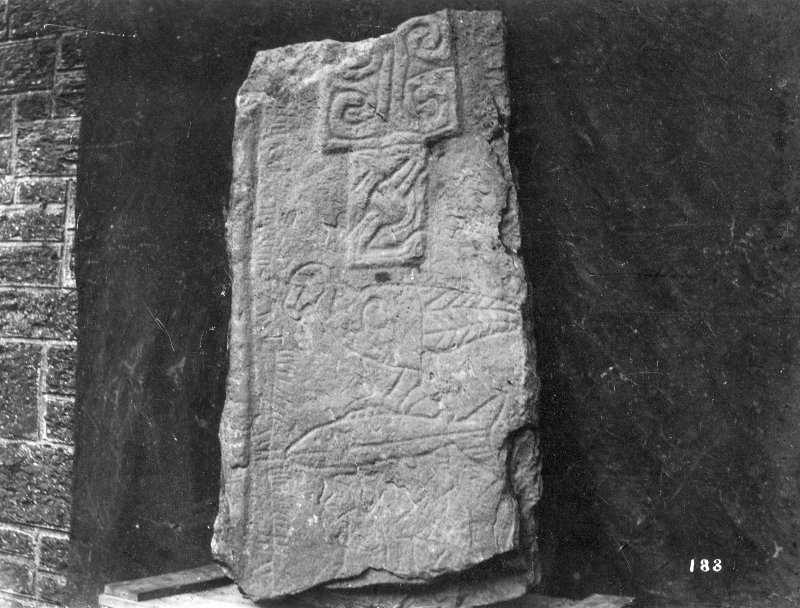 Scanned image of photograph of symbol stone. Copied from original in possession of Lord Strathnaver.