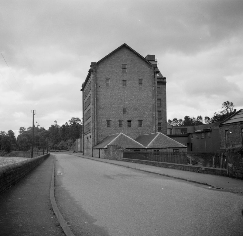 View of the Old Mill at Deanston.