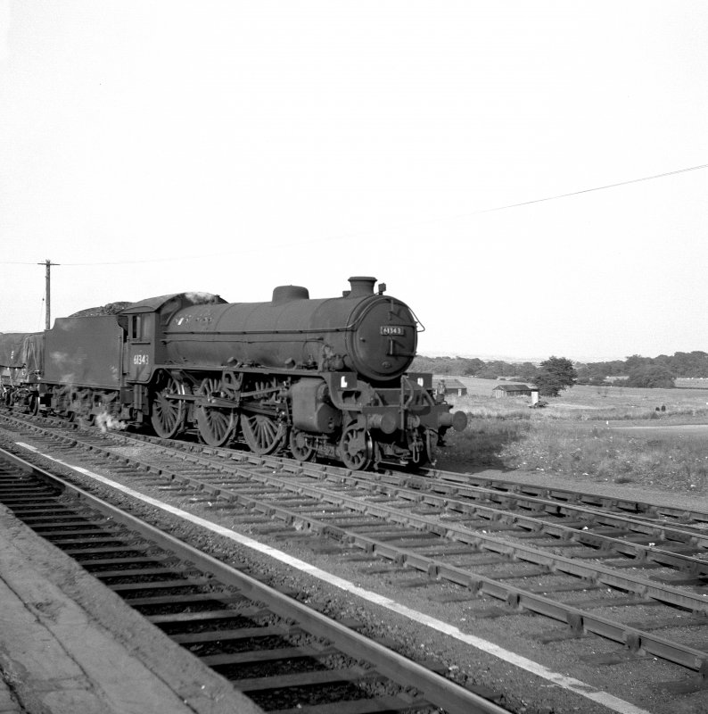 View of locomotive (B1), Thornton Junction